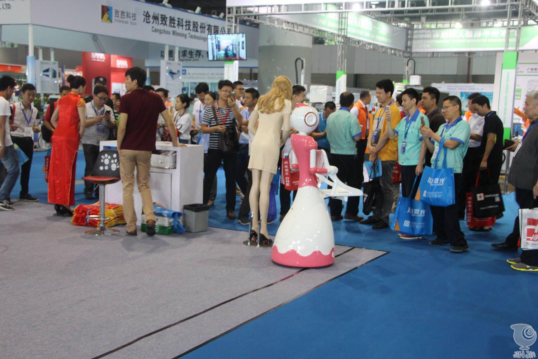2016广州国际机器人展览会,今甲智能机器人邀您一起