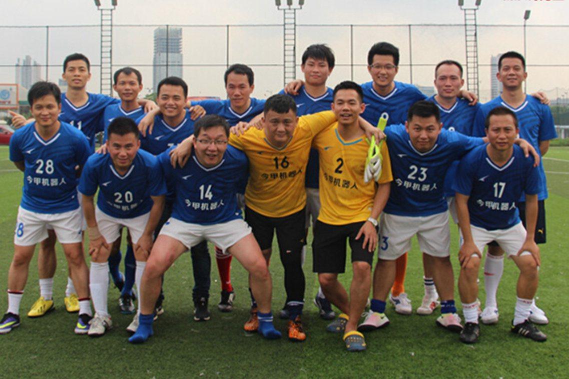 今甲在广州徐闻足球邀请赛中脱颖而出