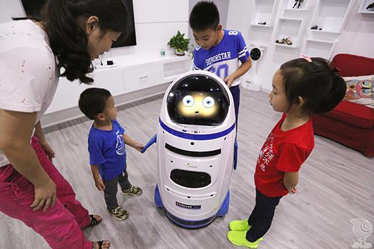 国家庭 服务型机器人 小胖 开售