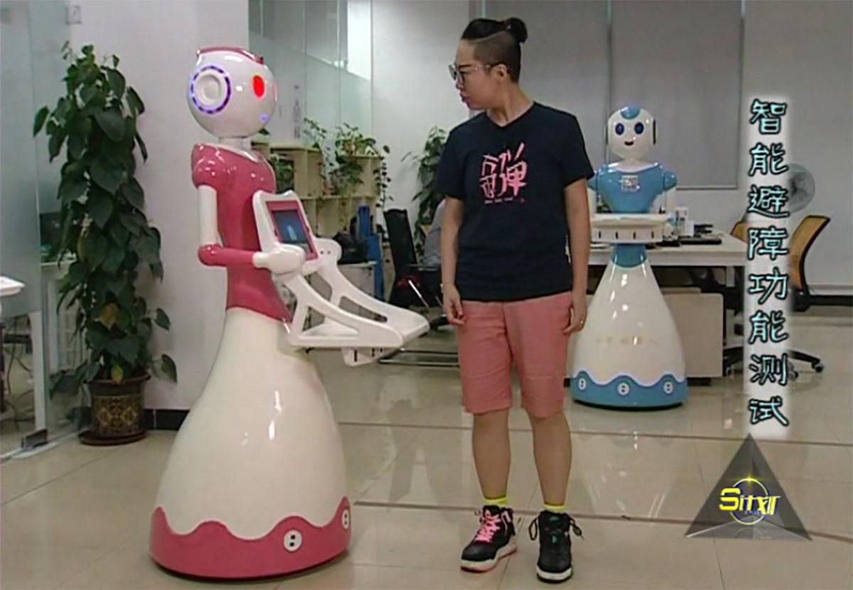 S计划,今甲机器人带您领略智能机器人风采